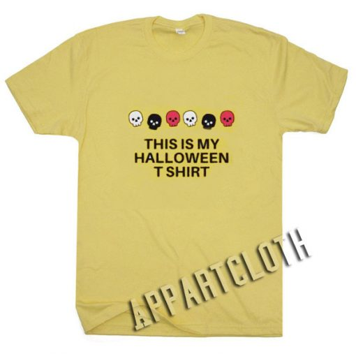 This Is My Halloween Funny Shirts