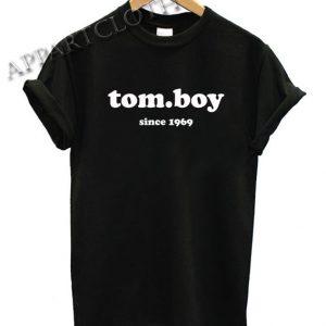 Tomboy Since 1969 Funny Shirts