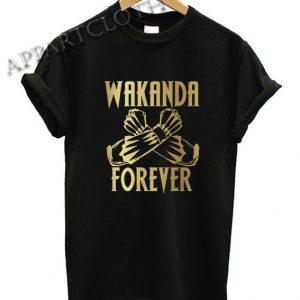 Wakanda Forever Salute Funny Shirts