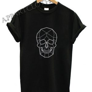 Geometric Skull Funny Shirts