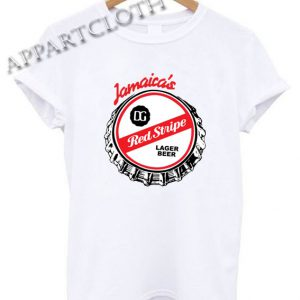 Jamaica's Red Stripe Shirts