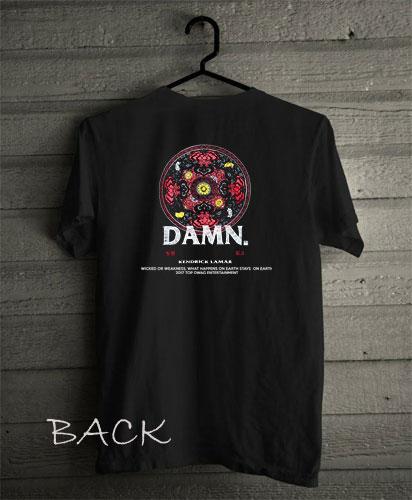 Kendrick Lamar Damn Funny Shirts