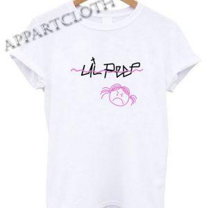 Lil Peep Sad Face Funny Shirts