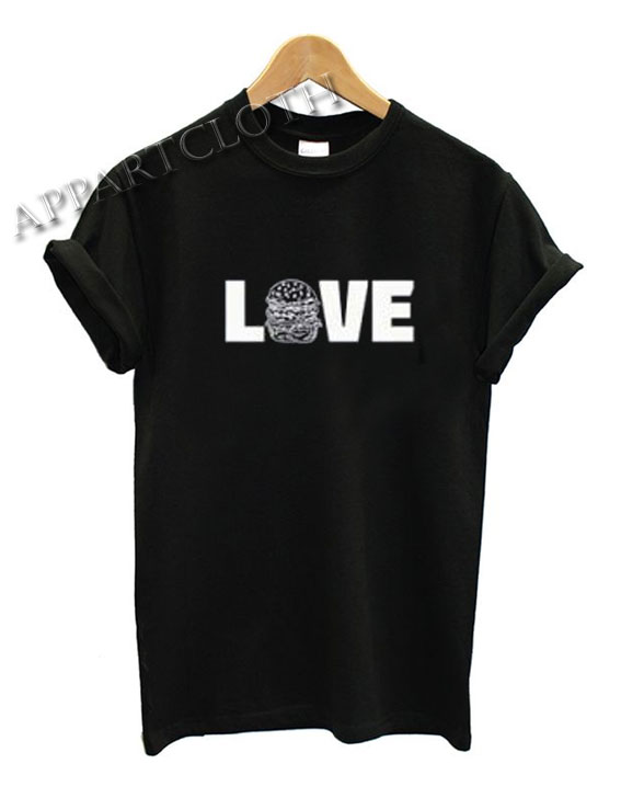 Love Hamburger Funny Shirts