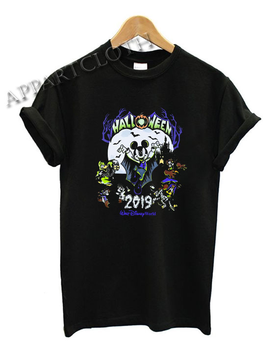 Mickey Mouse and Friends Halloween 2019 Funny Shirts