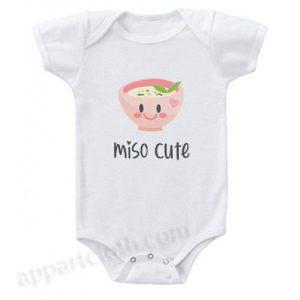 Miso Cute Funny Baby Onesie