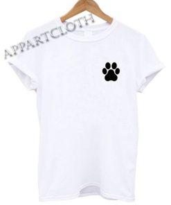 Paw Print Funny Shirts
