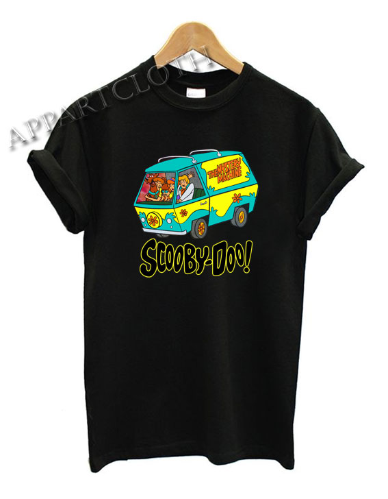 Scooby Doo Mystery Machine Funny Shirts