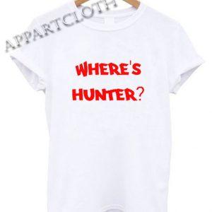 Where's Hunter Shirts