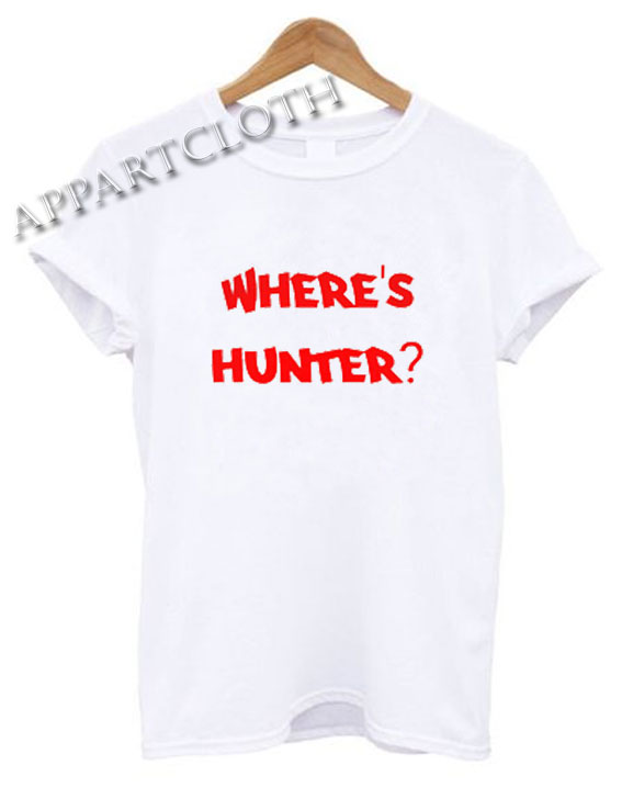 Where's Hunter Shirts