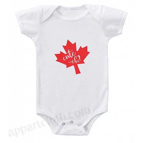 Canadian Funny Baby Onesie