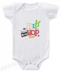 Hip Hop Funny Baby Onesie