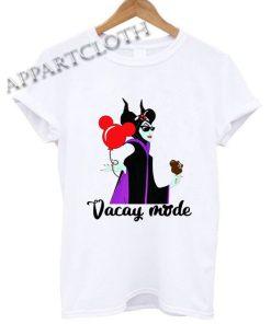 Maleficent Vacay mode Shirts