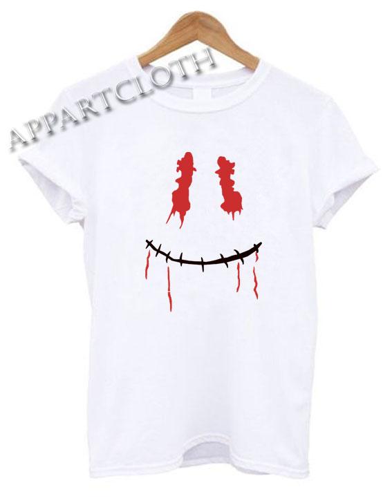 Skull Smiley Face Shirts