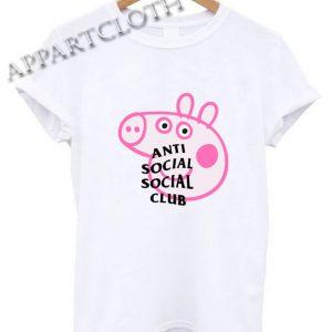 Anti Social Social Club X Peppa Pig Shirts