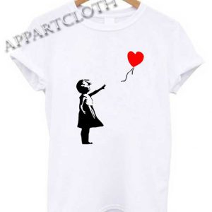 Banksy Girl With Balloon Shirts