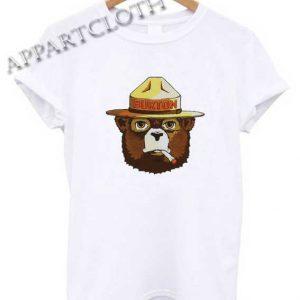 Burton Smokey The Bear Shirts