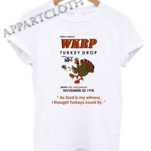 First Annual WKRP Turkey Drop Shirts