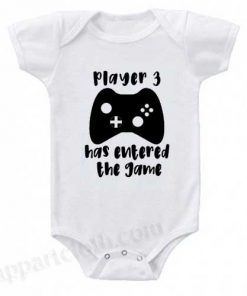 Gamer Dad Funny Baby Onesie