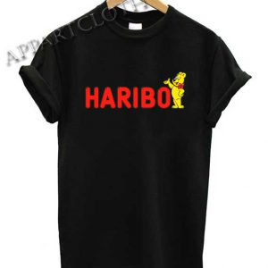Haribo Gummy Bears Candy Shirts