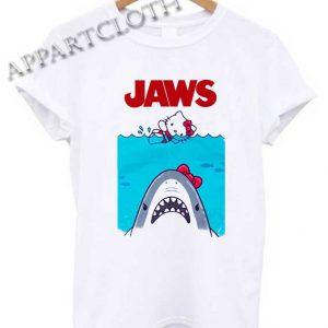 Hello kitty jaws Shirts