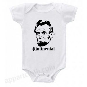 Lincoln Continetal Funny Baby Onesie