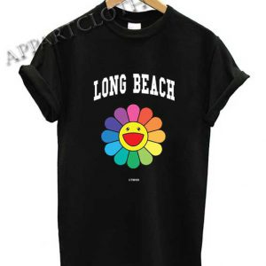 Long Beach Flower Shirts