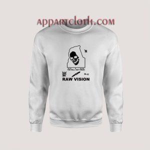 Alien Body Lil Peep Raw Vision Unisex Sweatshirts