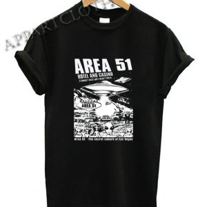 Area 51 Hotel Casino Alien Shirts