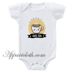 Cute Tea Funny Baby Onesie
