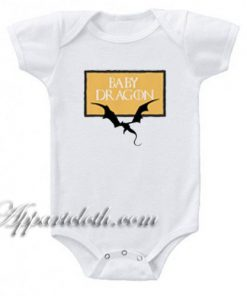 Game of Thrones - Baby Dragon Funny Baby Onesie