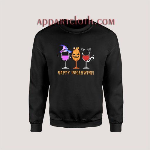 Halloween Wine Unisex Sweatshirts