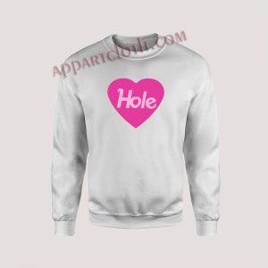 Heart Hole Unisex Sweatshirts