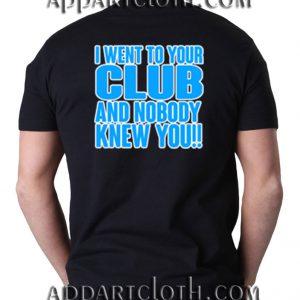I Can't Stand Broke Ass Men Shirts