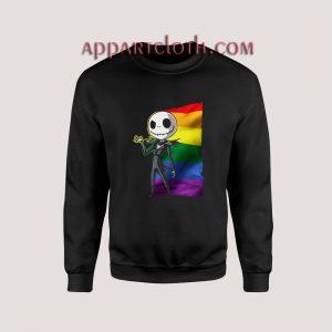 Jack Skellington LGBT Pride Unisex Sweatshirts