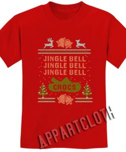 Jingle Bell Crocs Christmas Shirts