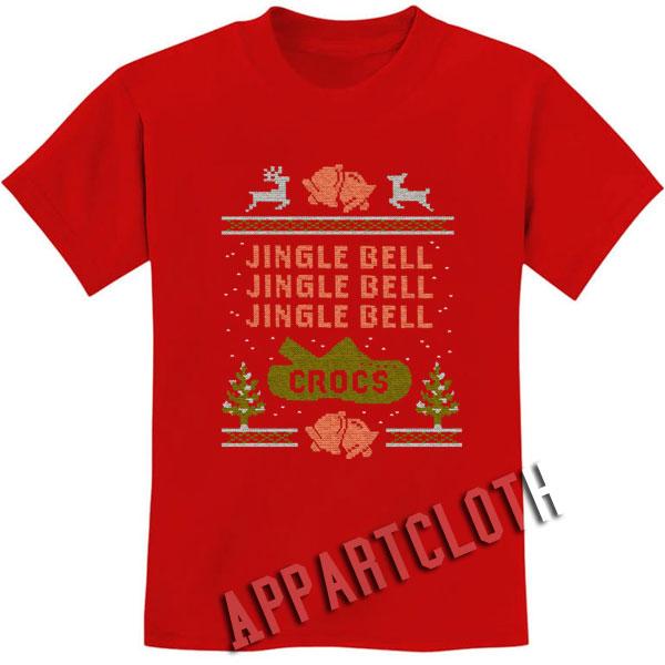 Jingle Bell Crocs Christmas Shirts
