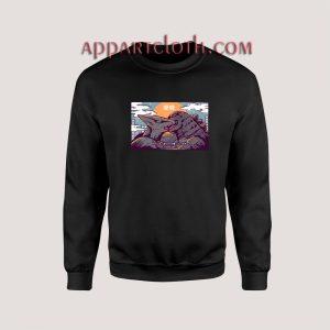 Kaiju Kiss Godzilla Unisex Sweatshirts