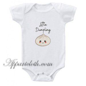 Little Dumpling Funny Baby Onesie