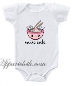 Miso Cute Sushi Funny Baby Onesie