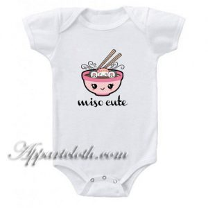 Miso Cute Sushi Funny Baby Onesie