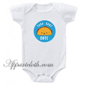 Taco Cute Funny Baby Onesie