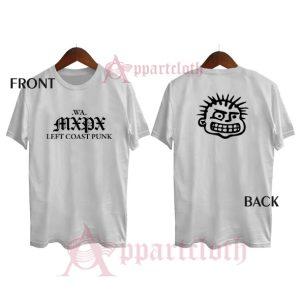 Vintage MXPX left coast punk Shirts