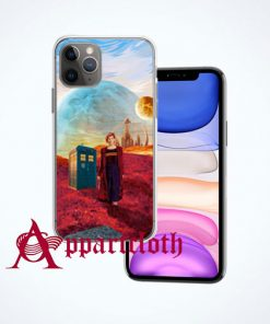 13th Doctor at gallifrey planet iPhone Case and Cover