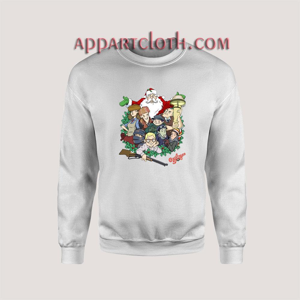 A Christmas Story Movie Unisex Sweatshirts