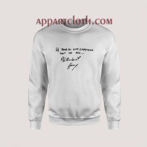 All The Love Harry Styles Unisex Sweatshirts