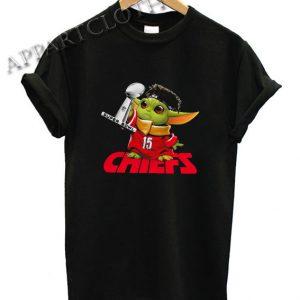 Baby Yoda Kansas City Chiefs Super Bowl Shirts, Baby Yoda Kansas City Chiefs Super Bowl Shirt