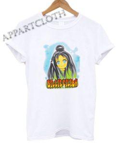 Billie Eilish Anime Face Shirts