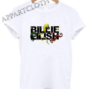 Billie Eilish snake Shirts