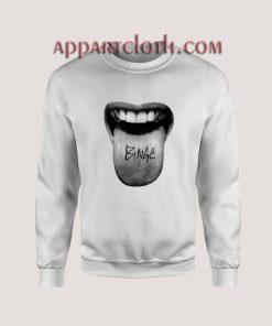 Binge Tongue Unisex Sweatshirts